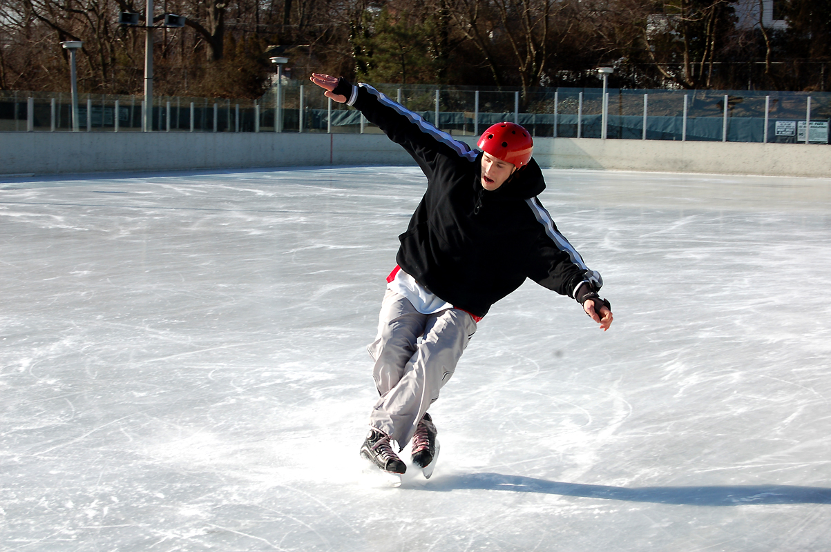 ice skating tricks